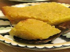 Receita de Bolo divino de laranja com banana e goiabada - Tudo Culinária