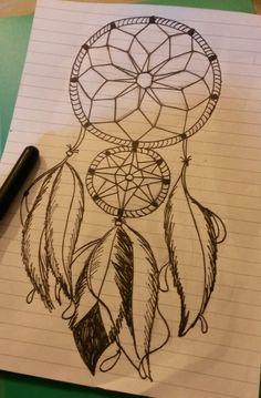 Dibujos de atrapasueños a lapiz - Imagui