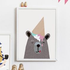 Wall art by our favorite designer, Michelle Carlslund, ideal as nursery gift or birthday present ;)