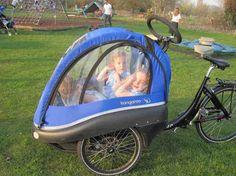Bike Trailer for 3 Kids