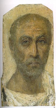 Fayum Mummy Portrait (1st century BCE) by artinconnu, via Flickr