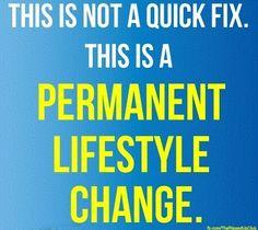 Fitness is not a quick fix, its a lifestyle!    #weightloss #calorieburn #fatburning