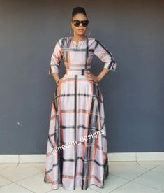 Trendy ideas on african fashion outfits 090 African Maxi Dresses, African Attire, African Wear, African Fashion Designers, African Print Fashion, Africa Fashion, African Traditional Dresses, Mode Style, Elegant Dresses