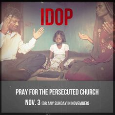 Pray for the Persecuted Church - Gospel for Asia  Every day, believers around the world risk banishment, beatings, imprisonment and death to follow Christ and take His Gospel farther. Perseverance often seems impossible, but when the Lord enables believers to stand strong, He works mightily through their sufferings.  During IDOP 2012, we asked you to pray for GFA pastor Ugyen during his time in prison for sharing the Gospel. Now free, he and recently released Pastor ..