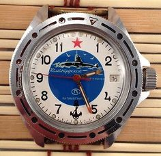 Vostok Men's Military Wristwatches with Date Indicator Kitsch, Military, Watches, Navy, Men, Vintage, Collection, Hale Navy, Wristwatches