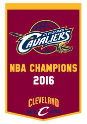 Cleveland Cavaliers 2016 NBA Champions 24x38 Banner