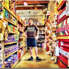 Old fashioned Candy Store. Fredericksburg Texas