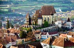 Biertan, an amazing little town in Transylvania, Roumania