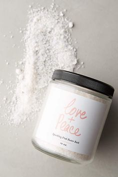Olivine Atelier Love + Peace Sparkling Pink Butter Bath