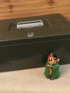 Metal File Box   Vintage Office  Industrial by PineStreetPickers