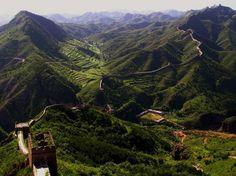 De Chinese muur - China