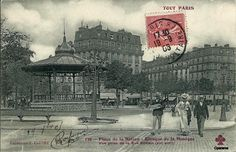 Place de la Nation prise de la rue Dorian.