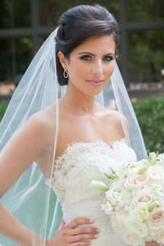 Wedding Hairstyles With Veil long curly wedding hairstyles with veil long curly wedding hairstyles and their own characteristics Pink Summer Wedding By Janet Lanza Photography Wedding Hairstyles With Veilbride