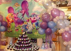 Suja Patel shared this amazing photo of Lara's Birthday! We love the color scheme ♥ The purple, blue, and white accent colors in the hats and balloons really make everything look soft and dreamy. Baby 1st Birthday, First Birthday Parties, First Birthdays, Birthday Ideas, So Creative, Party Themes, Party Ideas, Accent Colors, Color Schemes