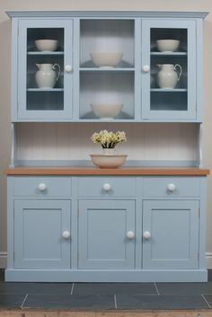 Painted Kitchen Dressers and Fine Free Standing Furniture from The Kitchen Dresser Company / Furniture - Kitchen Dressers - Dr Langton's Dining Room Hutch, Kitchen Dresser, Kitchen Paint, Kitchen Furniture, Home Furniture, Kitchen Decor, Kitchen Cabinets, Furniture Stores, Furniture Buyers