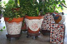 Mosaic Pot grouping | by lyndalu_fla