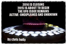 2015 está para começar, mas a questão dos OVNIs / UFOs ainda é inexplicável e desconhecida - OVNI Hoje!...