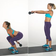 Kettlebell Exercises For Weight Loss | POPSUGAR Fitness