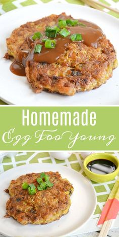 Egg Foo Young Better than Takeout! Homemade Egg Foo Young RecipeBetter than Takeout! Vegetable Egg Foo Young Recipe, Egg Fu Young Recipe, Homemade Egg Foo Young Recipe, Chicken Egg Foo Young Recipe, Egg Foo Young Recipe Vegetarian, Recipe For Egg Foo Yung, Low Carb Egg Foo Young Recipe, Chinese Egg Foo Young Recipe, Roast Pork Egg Foo Young