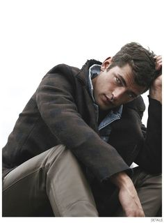 Sean OPry Dons Fall Outerwear for Details October 2014 Issue image Sean OPry Details Fashion Editorial October 2014 004