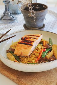 Asian Recipes, Ethnic Recipes, Japchae, Foods, Food Food, Food Items, Asian Food Recipes