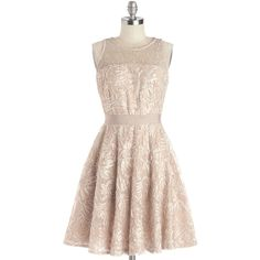 After the Fete Dress (500 BRL) ❤ liked on Polyvore featuring dresses, vestidos, modcloth, short dresses, sleeveless, prom, pink, pastel, party and mid-length
