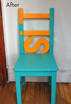 "SIT....a bit of paint, an ""S""...SIT!"