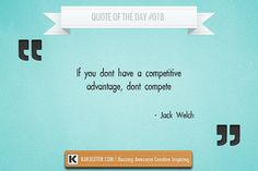 Quote Of The Day #018 Jack Welch
