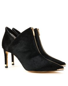 Exotic pointed boot - Jet   Footwear   Ted Baker UK