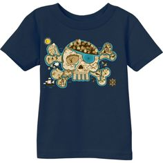 Treasure Map Infant T-Shirt - Great t-shirt for a kid who loves pirates and adventure.
