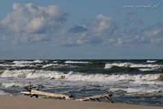 Baltic Sea Baltic Sea, Beautiful Images, Poland, Waves, Ocean, Mountains, Beach, Nature, Pictures