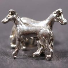 Collie (smooth) silver EARRINGS (studs)