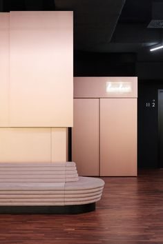 A new Berlin cinema where every theater is a glowing piece of art - Curbed New Cinema, New Berlin, Architecture Magazines, Art Pieces, Glow, Interior Design, Gallery, Theater, Vox Media