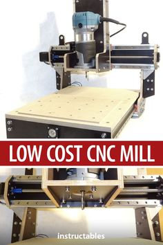 Build a CNC mill for less than 500€. Great for someone who wants to get started with CNC-machining.  #Arduino #technology #electronics #endmill