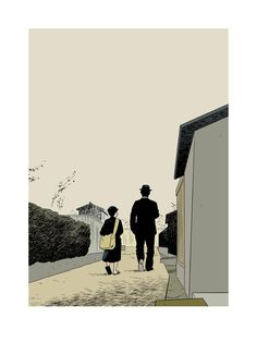 Adrian Tomine - There Was a Father by Yasujiro Ozu
