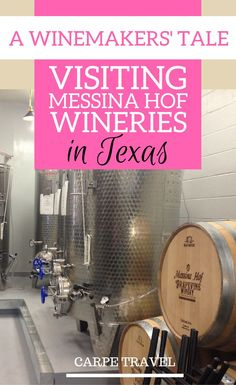 Why you should visit Messina Hof Wineries in Texas (various locations: Bryan, Fredericksburg, Grapevine) + an interview to winemaker Paul V Bonarrigo. | Texas wineries | Texas wine country | Texas Hill country travel guide | Texas vineyard #Texas #WineCou