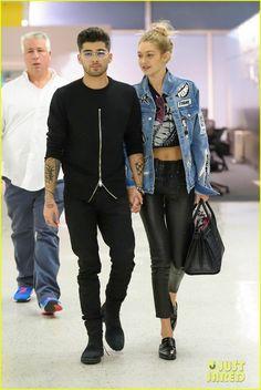 Looks Gigi Hadid, Bella Hadid Style, Zayn Malik Style, Zayn Malik Pics, Gigi Hadid And Zayn Malik, Celebridades Fashion, Gigi Hadid Outfits, Outfits Hombre, Fashion Couple