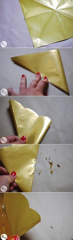DIY. Paper lantern