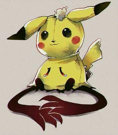 Mimikyu, sad, crying, stuffed; Pokémon