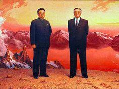 Kim Il Sung & Kim Jong Il