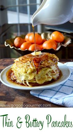Perfect for a homey weekend breakfast! These pancakes cook up super ...