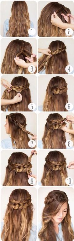 Try This Elegant Braided Hair In Any Occasion ;) Don't Miss Trying Or Doing It Out!