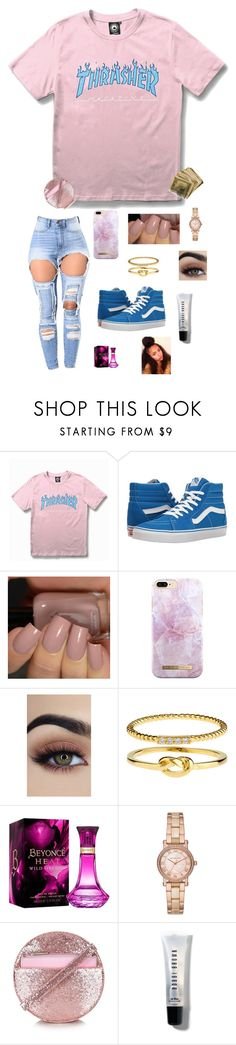 """i can't even roll in peace."" by swaggyrl ❤ liked on Polyvore featuring WithChic, Vans, Accessorize, Michael Kors and Bobbi Brown Cosmetics"