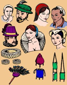 003 Elizabethan Wardrobe Accessories