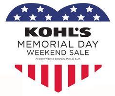 kohl's memorial day deals