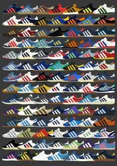 Peter O'Toole Illustrations - Adidas City Series.