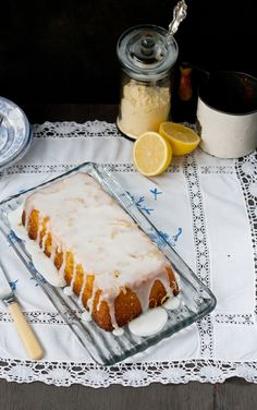 Lemon Polenta Cake - Gluten Free