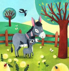 Melanie Grandgirard - professional children's illustrator, view portfolio