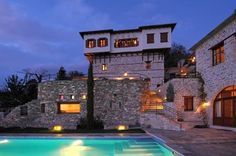 Philippitzis & associates » Blog Archive » Sakali Hotel Steam Bath, Old Mansions, Traditional, Architecture, House Styles, Building, Archive, Stone, Blog