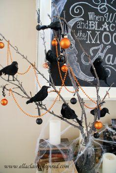 Simple Halloween twigs